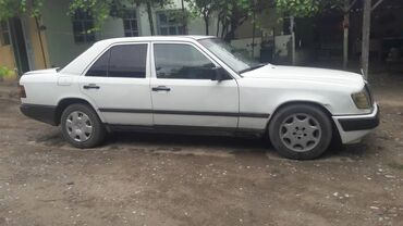 Транспорт - Массы: Mercedes-Benz W124 2.5 л. 1988