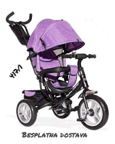 Ostalo | Paracin: Tricikl.Boje ljubicasta i plava.Cena 7200 din