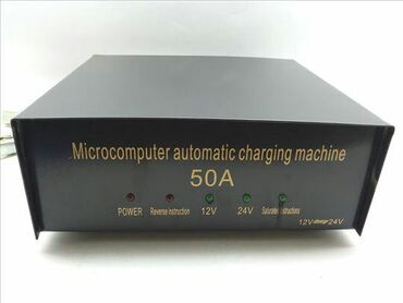 50A (ampera) Mikrokompijuter punjac za auto 12v -24v automatski puni i