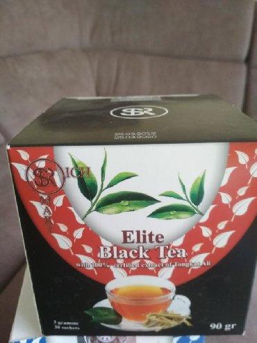 элитный горячий шоколад sr в Кыргызстан: Tongkat Ali Black TeaЭлитный черный 100% органический чай сорта Пуерсо