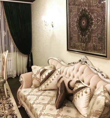 без хозяин квартира берилет in Кыргызстан   ДОЛГОСРОЧНАЯ АРЕНДА КВАРТИР: 4 комнаты, 100 кв. м, С мебелью