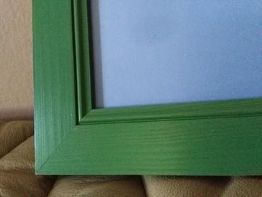 Ram za slike veliki drveni novoooo 35x25 prelepa zelena - Sombor - slika 6