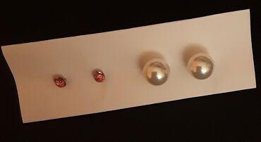 Ρούχα Γάμου & Αξεσουάρ - Ελλαδα: Σκουλαρίκια (2 ζεύγη), ολοκαίνουρια.5€ και τα 2 ζευγάρια.Επικοινωνία