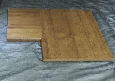 Столешница угловая, заводская, размер 90 смх 90 см, глубина 60 см