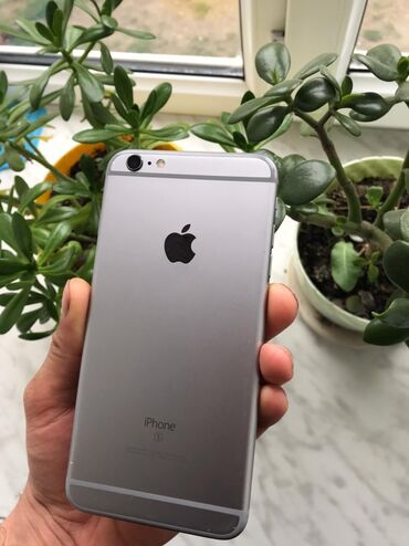 İşlənmiş iPhone 6s Plus 128 GB Boz (Space Gray)