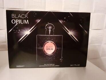 Italijanske naocare - Srbija: Black Opium 2×50mlNajpovoljniji parfemi naocara i setovi u srbiji
