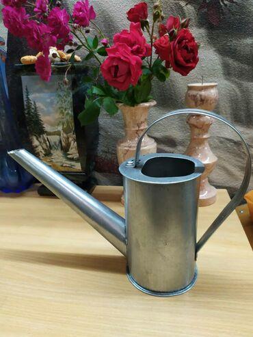 Ведра в Кыргызстан: Лейка для цветов 1 литр вместимостьПод заказ любой объём воды Ручная