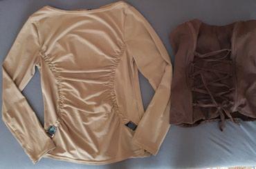 Oba za 300 Jako lepa ocuvana bluzica i korset,odgovaraju br. S. - Jagodina