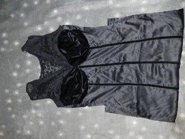 Crni sa cipkom - Srbija: Haljina crna elegantna sa cipkom