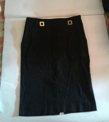 Личные вещи - Кировское: Летняя чёрная юбка классика для подросткового возраста