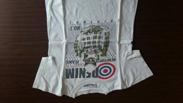 Majica za decake vel. 10 god.100% pamuk,polovna i kupljena u Parizu - Petrovac na Mlavi