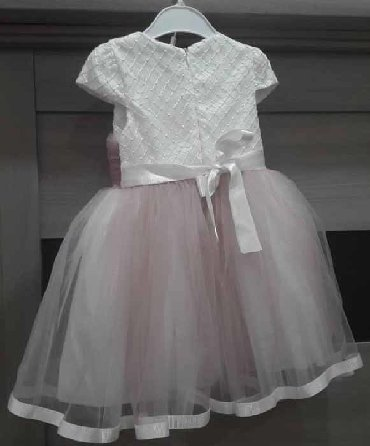 нарядное платье в пол в Кыргызстан: Продам нарядное детское платье, размер 9-12 месяцев, Турция, (мягкий