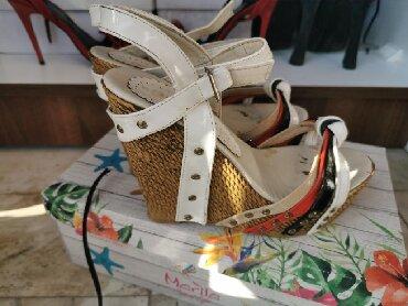 Sandale, broj 35. Oba para za 1000din - Pirot