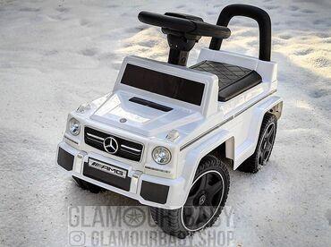 Детская машинка толокар Mercedes-Benz G 6.3 белый↑Для деток от 10