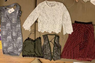 платья рубашки свободного кроя в Кыргызстан: Платье юбка топ жилетка рубашкаВсе новое кроме юбкиЗа все вместе