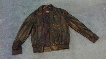 продаю мужскую кожаную куртку, размер 52,новая, прошу 1500с в Бишкек