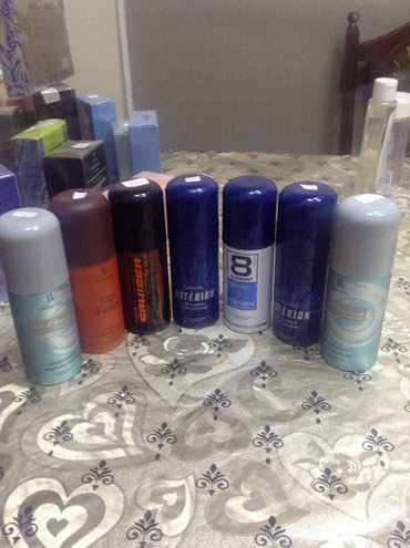 Sumqayıt şəhərində Kişi dezodorantları endirimnen satılır 3 man