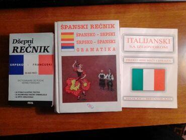 Francuski jezik - Srbija: Recnici francuskog, spanskog i italijanskog jezika