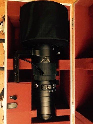 Bakı şəhərində Nikon 600mm f/4 VR