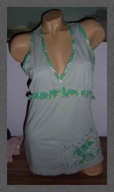 Majica pamucna xl - Srbija: COMODO Pamucna Majica Bez Rukava Kao Novaširina ramena 26cmširina