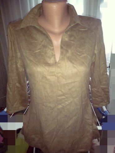 блузки с коротким рукавом в Кыргызстан: Европа блузка,рукава три четверти р 42 сбоку молния