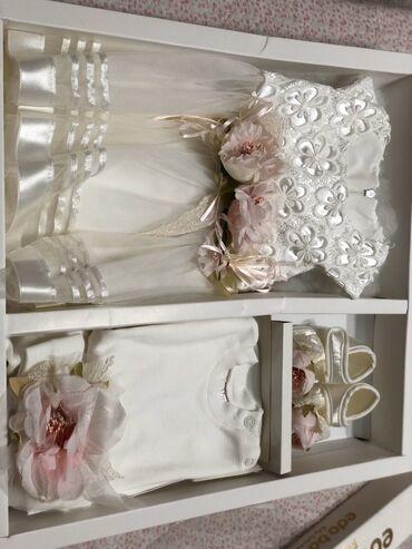 набор для новорожденных в Кыргызстан: Детский набор для новорожденных малышей, очень красивый комплект и тка