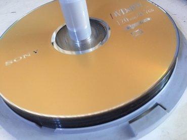 dvd r диск в Кыргызстан: DVD диски новые (9штук) и держатель дисков (2)