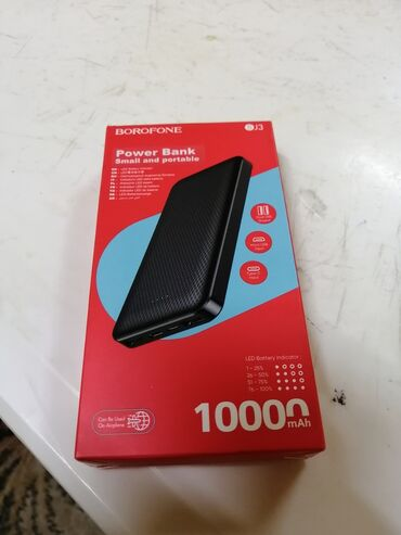 мини аккумулятор в Азербайджан: Poverbank 1000. cox qeweng maldir. en azi iki defe telefonu doldurur