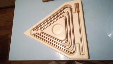 Инструмент музыкальный профессиональный-треугольники(12-15-19, диаметр