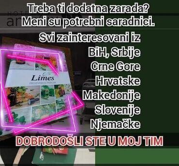 Trazim posao - Srbija: POTREBNI SARADNICI!!!Kompanija Limes trazi saradnike za prodaju