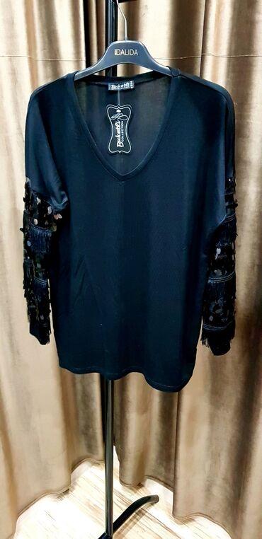 рубашка от mexx в Кыргызстан: Новая кофта из Турции.  Цвет черный. Размер xl  Ош. Синяя кофта xxl О