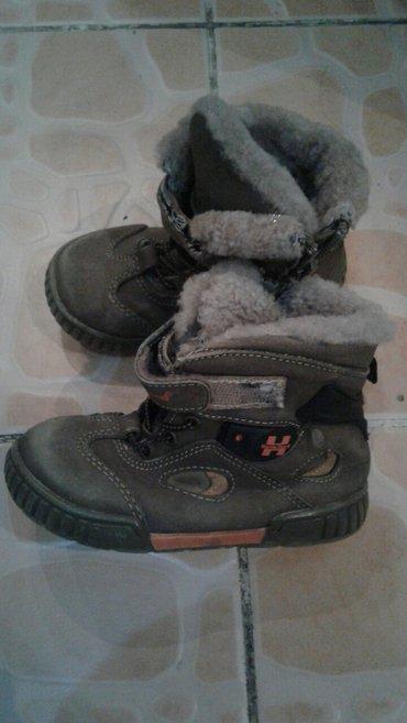 фирменную обувь в Кыргызстан: Продаю б/у сапоги. детские. на мальчика. натуралка. мех цигейка. очень