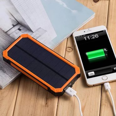 Power bank на солнечных батареях в Бишкек