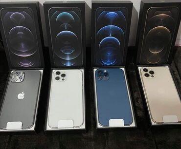 IPhone 12 Pro | 128 GB | Göy | Yeni | Zəmanət, Face ID