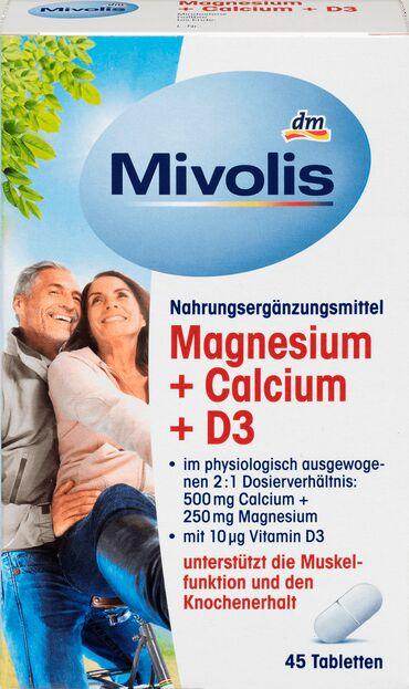 Kosa prirodna - Srbija: Vitaminski suplementi,sve u roku.Magnezijum, kalcijum i vitamin D3 -
