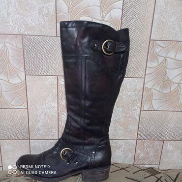 квартира берилет кант in Кыргызстан | БАТИРЛЕРДИ УЗАК МӨӨНӨТКӨ ИЖАРАГА БЕРҮҮ: Продаю кожаные демисезонные сапоги 40 размер из Германии,новые
