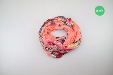 Личные вещи - Украина: Жіночий шарф у квітковий принт    Розмір: 180 х 90 см  Стан гарний