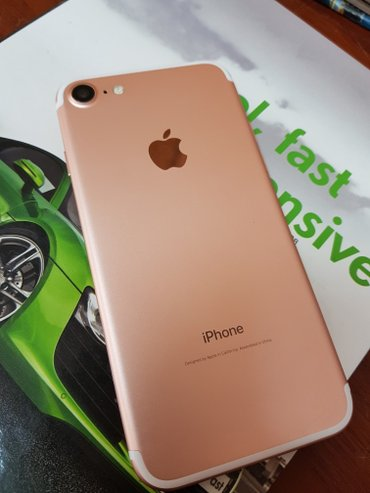 Продаю Iphone 7 128 G rose gold in Бишкек