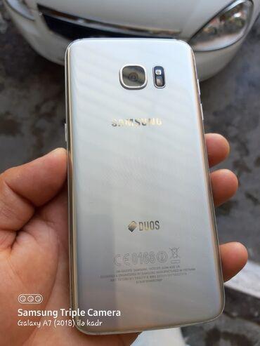 Электроника в Хачмаз: Б/у Samsung Galaxy S7 Edge 32 ГБ Серебристый