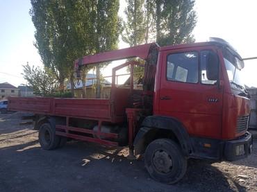 Услуги крана манипулятора грузоперевозки любой в Бишкек