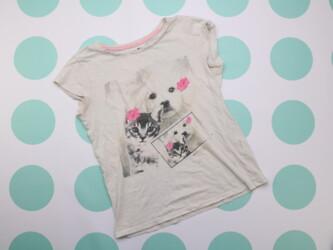 Подростковая футболка с принтом Cool Club     Длина: около 60 см Пог