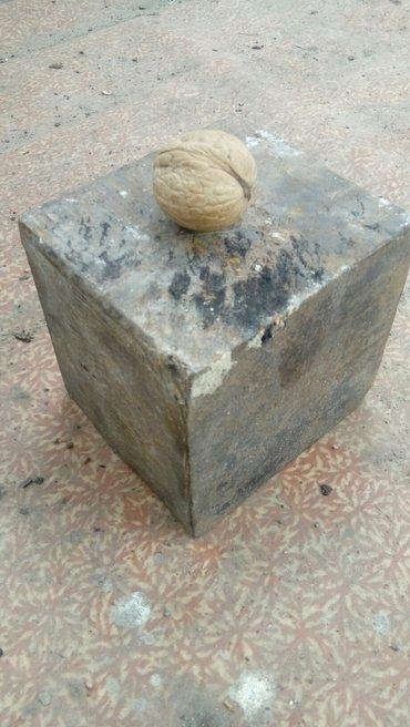 Литая болванка10×10×11см. в Бишкек