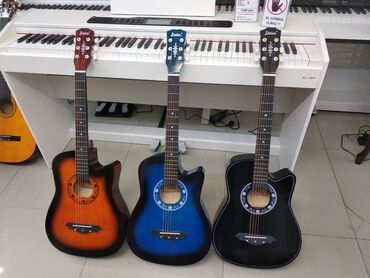 Gitara  Gitaralar 🎸 hər növdə hər rəngdə Akustik gitara Klassik Gitara