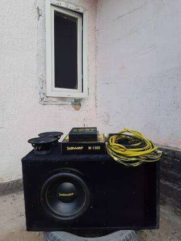Продаю акустическую систему Саб swat v12 rev 2 двухкатушечныйУсилитель