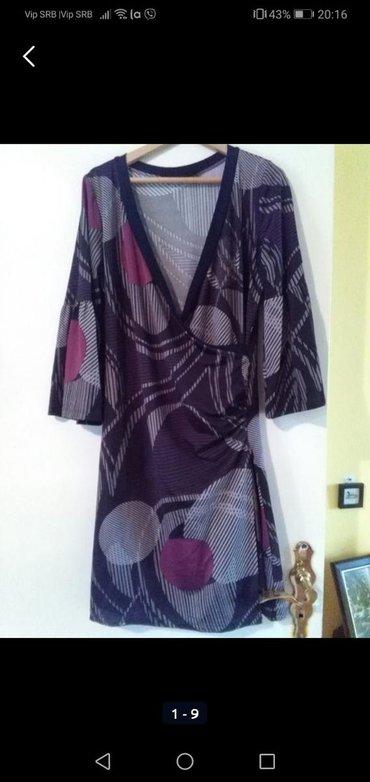 Ženska odeća   Sombor: Haljina za krupnije dame, nošena jednom