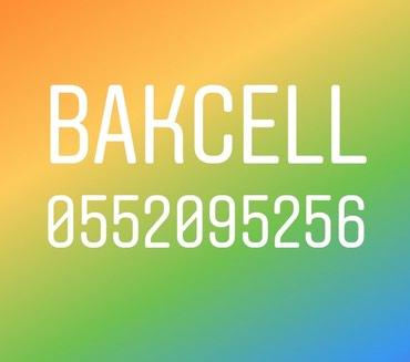 Bakı şəhərində Bakcell 0552095256