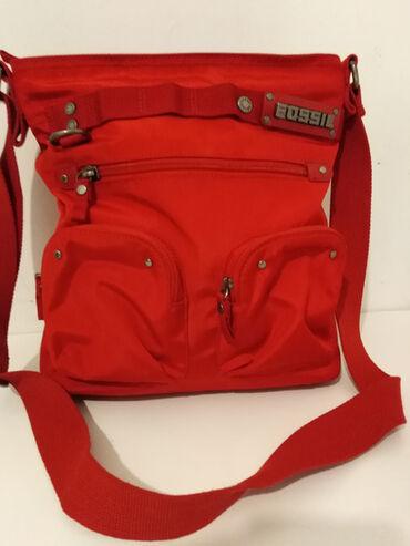 FOSSIL vrhunska original torba,jednom nošena bukvalno nova,slike sve