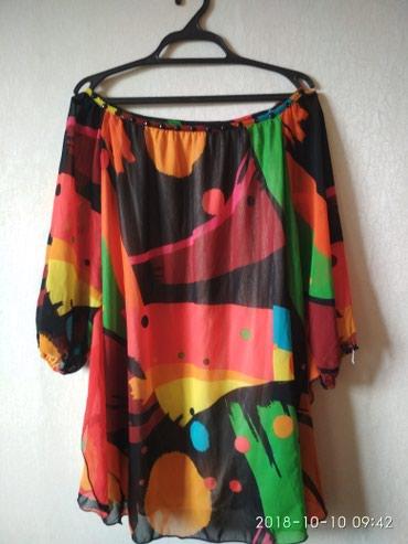 свободная рубашка в Кыргызстан: Блузка новая!!раз 46-48_50_свободного кроя!!