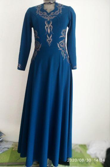 Женская одежда - Кашка-Суу: Очень красивое и шикарное платье с кыргызскими орнаментами!Реальным