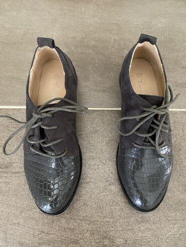 Cipele 37 - Srbija: Zenske cipele, sive, broj 37. Jednom nosene. Cena 1.000 rsd